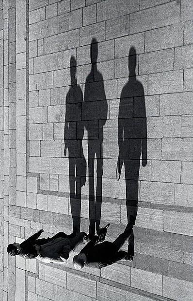 sombra pessoas