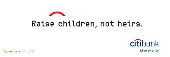 Crie filhos em vez de herdeiros
