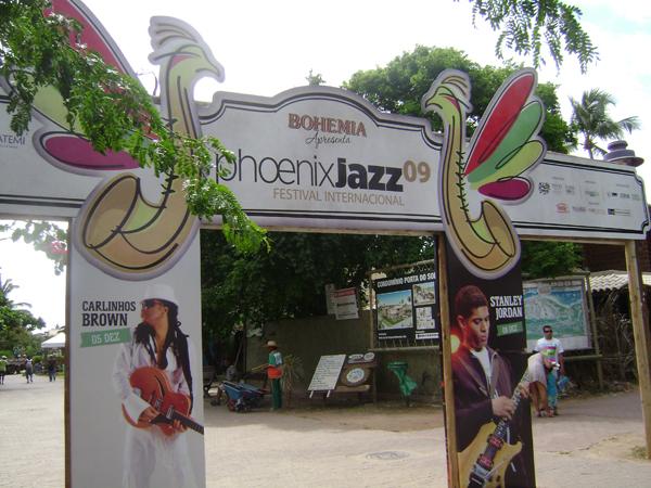Phoenix Jazz - Entrada