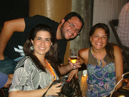 Os sócios comemoram 3 anos de sucesso da Marcativa