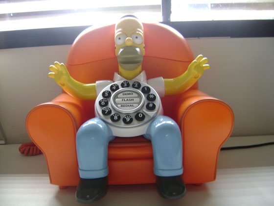 Homer-phone acordado