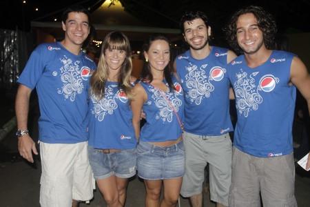 Artistas no Camarote Pepsi Gold