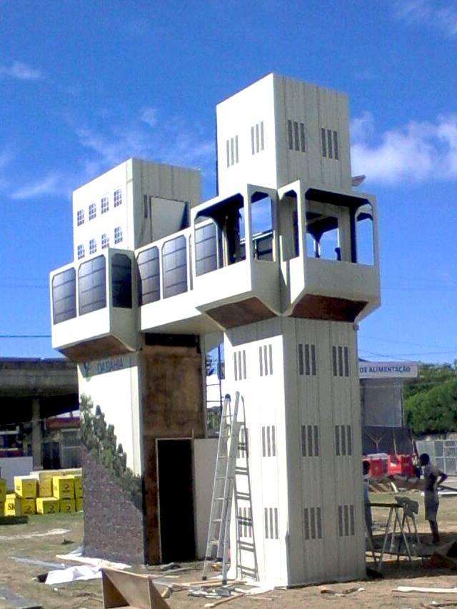 3-Torre dos Djs - Montagem